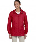 Harriton Ladies' Essential Rainwear Red