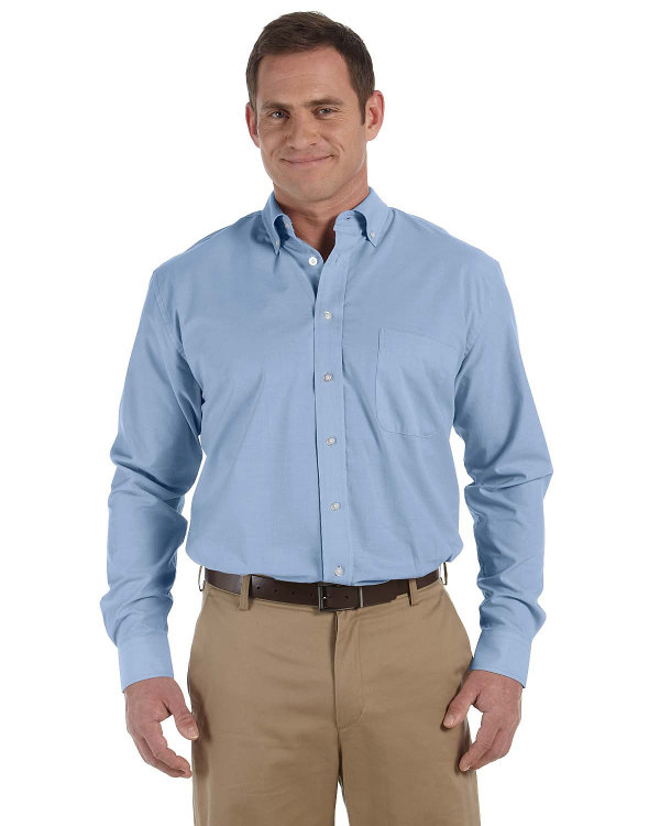 harriton-mens-3.48-oz-chambray-lt-blue-chambray