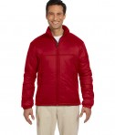 Harriton Men's Essential Polyfill Jacket Red