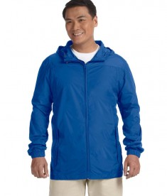 Harriton Men's Essential Rainwear Cobalt Blue