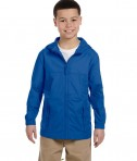 Harriton Youth Essential Rainwear Cobalt Blue