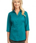 IMPROVED Port Authority Ladies 3/4-Sleeve Blouse Style L6290