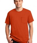 JERZEES -  Heavyweight Blend 50/50 Cotton/Poly Pocket T-Shirt Style 29MP