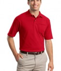 JERZEES -SpotShield 5.6-Ounce Jersey Knit Sport Shirt with Pocket Style 436MP