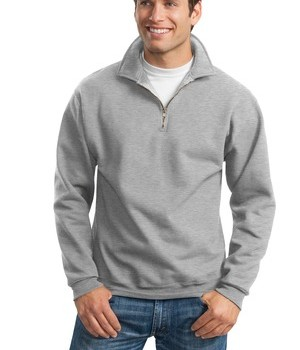 JERZEES SUPER SWEATS – 1/4-Zip Sweatshirt with Cadet Collar Style 4528M 1