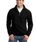 JERZEES SUPER SWEATS - 1/4-Zip Sweatshirt with Cadet Collar Style 4528M
