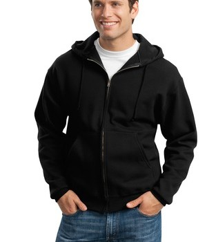 JERZEES Super Sweats – Full-Zip Hooded Sweatshirt Style 4999M 1