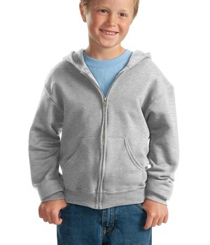 JERZEES – Youth NuBlend Full-Zip Hooded Sweatshirt Style 993B 1
