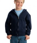 JERZEES - Youth NuBlend Full-Zip Hooded Sweatshirt Style 993B