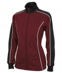 Maroon & Black Charles River Apparel 5673 Women's Rev Jacket