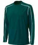 Charles River Apparel 3137 Mens Long Sleeve Wicking Tee Shirt: Forest