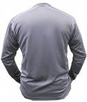 Charles River Apparel 3137 Mens Long Sleeve Wicking Tee Shirt: Back View