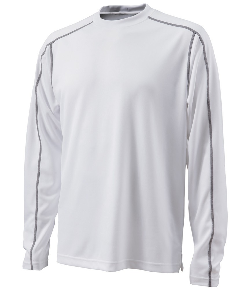 Charles River Apparel Style 3137 Long Sleeve Wicking Tee - Casual ...