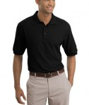 Nike Golf - Pique Knit Polo Style 193581 Black