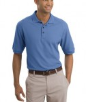 Nike Golf - Pique Knit Polo Style 193581 Lake Blue