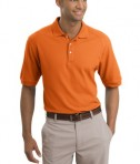 Nike Golf - Pique Knit Polo Style 193581 Orange Ice