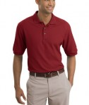 Nike Golf - Pique Knit Polo Style 193581 Pro Red