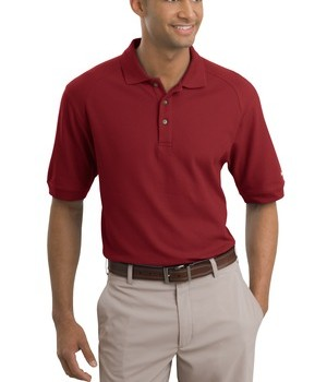 Nike Golf – Pique Knit Polo Style 193581 Pro Red