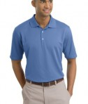 Nike Golf - Dri-FIT Textured Polo Style 244620 Lake Blue