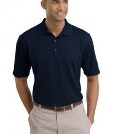 Nike Golf - Dri-FIT Textured Polo Style 244620 Navy