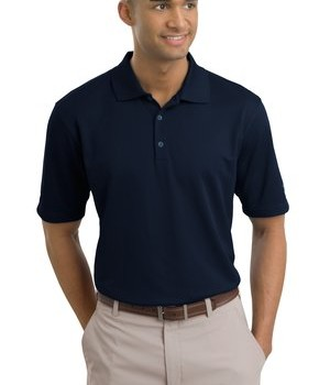 Nike Golf – Dri-FIT Textured Polo Style 244620 Navy