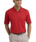 Nike Golf - Dri-FIT Textured Polo Style 244620 Sport Red