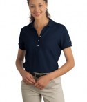Nike Golf - Ladies Pique Knit Polo Style 297995 Navy