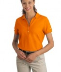 Nike Golf - Ladies Pique Knit Polo Style 297995 Orange Ice