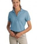 Nike Golf - Ladies Pique Knit Polo Style 297995 Skyline Blue