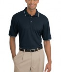 Nike Golf - Dri-FIT Classic Tipped Polo Style 319966 Dark Navy