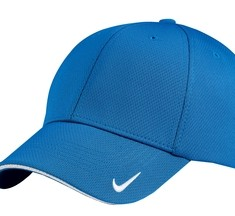 Nike Golf - Dri-FIT Mesh Swoosh Flex Sandwich Cap Style 333115 Pacific Blue