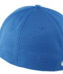 Nike Golf - Dri-FIT Mesh Swoosh Flex Sandwich Cap Style 333115 Pacific Blue Back