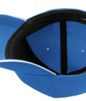Nike Golf - Dri-FIT Mesh Swoosh Flex Sandwich Cap Style 333115 Pacific Blue Bottom