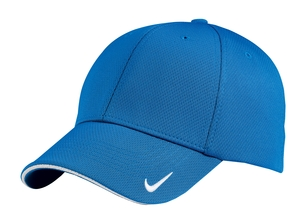 Nike Golf – Dri-FIT Mesh Swoosh Flex Sandwich Cap Style 333115 Pacific Blue