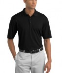 Nike Golf 349899 Dri-FIT Texture Polo Black