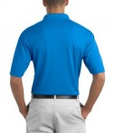 Nike Golf 349899 Dri-FIT Texture Polo New Blue Back