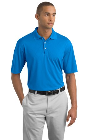 Nike Golf 349899 Dri-FIT Texture Polo New Blue