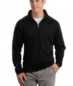 Nike Golf - Dri-FIT 1/2-Zip Cover-Up Style 354060 Blue Spark