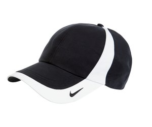 90ab3bac980 Nike Golf - Dri-FIT Technical Colorblock Cap Style 354062 Black and White