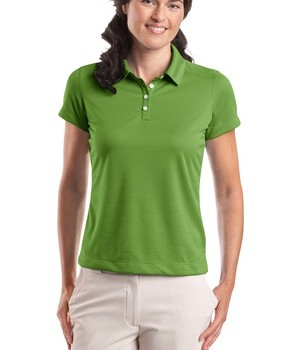 Nike Golf – Ladies Dri-FIT Pebble Texture Polo Style 354064 Chlorophyll