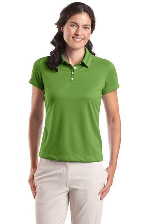 Nike Golf - Ladies Dri-FIT Pebble Texture Polo Style 354064 Chlorophyll