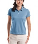 Nike Golf - Ladies Dri-FIT Pebble Texture Polo Style 354064 Fair Blue