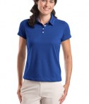 Nike Golf - Ladies Dri-FIT Pebble Texture Polo Style 354064 Varsity Royal