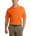 Nike Golf - Dri-FIT Pebble Texture Polo Style 373749 Orange