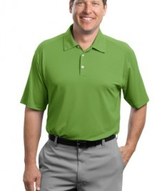 Nike Golf - Dri-FIT Mini Texture Polo Style 378453 Chlorophyll
