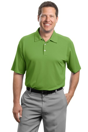 Nike Golf – Dri-FIT Mini Texture Polo Style 378453 Chlorophyll