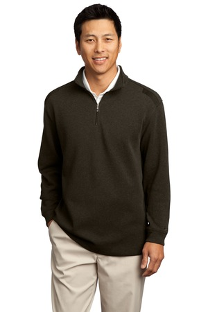 Nike Golf - Heather Cover-Up Style 392394 Old Moss Heather Black