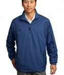 Nike Golf - 1/2-Zip Wind Jacket Style 393870 Royal Black