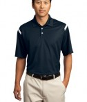Nike Golf - Dri-FIT Shoulder Stripe Polo Style 402394 Midnight Navy
