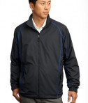Nike Golf - Full-Zip Wind Jacket Style 408324 Anthracite Deep Royal